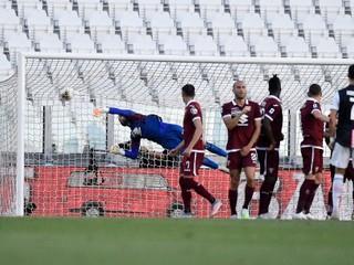 Ronaldo dal parádny gól, zahral si aj Vavro. Juventus mieri za ďalším titulom