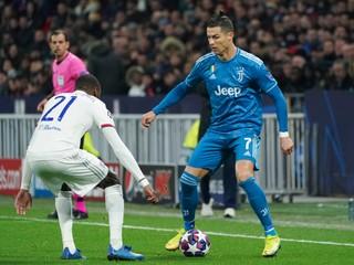 ONLINE PRENOS: Juventus Turín - Olympique Lyon (Liga majstrov, osemfinále)