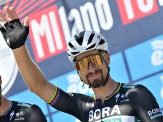 Sagan s úsmevom pred štartom: Sú to moje šťastné preteky