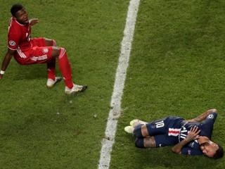 Zlomený Neymar skončil v potoku sĺz, Bavori sú králi Európy