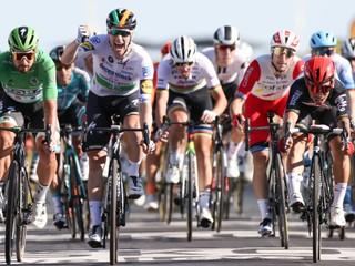 Sagan bol v cieli tretí a na prémii druhý, prišiel však o zelený dres
