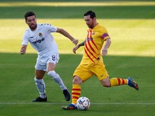 Messi nastúpil v základe, Barcelona zdolala treťoligistu o dva góly