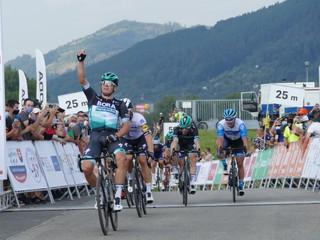 Začiatok Okolo Slovenska ovplyvnili pády. Poletapu vyhral cyklista Bory