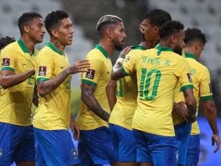 Brazília deklasovala súpera, dvoma gólmi sa zaskvel útočník Liverpoolu