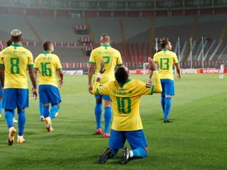 Neymar hetrikom zariadil výhru Brazílie, prekonal legendárneho krajana