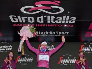 Bodovacia súťaž na Giro d'Italia 2020 - boj o cyklámenový dres (konečné poradie)