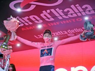 Celková klasifikácia na Giro d'Italia 2020 - boj o ružový dres (konečné poradie)