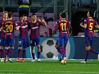Finta, penalta a gól. Náhradník Messi spasil Barcelonu