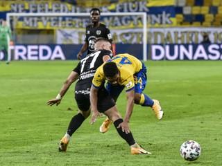 Dunajská Streda nečakane zaváhala, ligu už vedie Slovan
