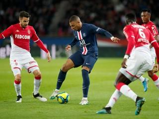 Mbappého góly na body nestačili, Monako predviedlo nečakaný obrat