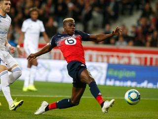V Montpellieri padlo až sedem gólov, Lille znížilo stratu na lídra