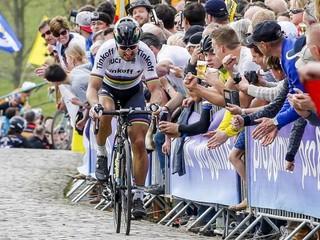 Saganova forma ma prekvapuje, vraví jeho rival pred Okolo Flámska