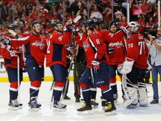 NHL: Washington udržal nádej, San Jose je len krok od postupu