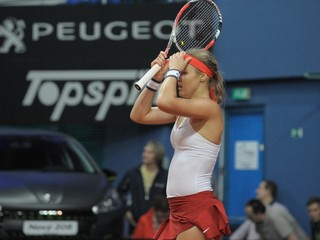 Schmiedlová vyhrala úvodný set, na Mladenovicovú napokon nestačila