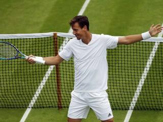 Berdych postúpil do 2. kola na Wimbledone, Djokovič už do 3. kola