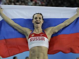 Chce reprezentovať Rusko. Isinbajevová požiadala o povolenie účasti na OH