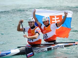 Slovensko má z Ria prvú zlatú medailu, získali ju Škantárovci