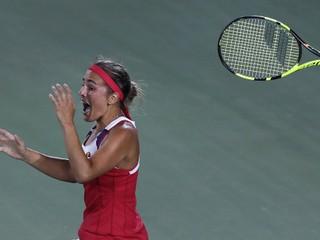 Vyradila veľké favoritky. Portoričanka senzačne ovládla tenisový turnaj v Riu