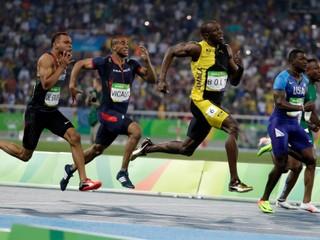 Bolt ovládol beh na sto metrov aj v Riu. Ešte dve zlaté a môžem to zabaliť, vraví