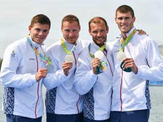Slovensko má štvrtú olympijskú medailu, štvorkajak získal striebro