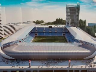 Výstavba Národného futbalového štadióna pokračuje podľa plánu