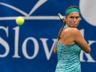 Slovenka Škamlová postúpila v Prahe do osemfinále