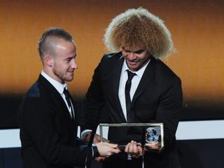 Zdolal Neymara i Falcaa. Pred štyrmi rokmi dostal Stoch cenu za najkrajší gól na svete