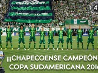 Navrhol to súper. Chapecoense je oficiálnym víťazom Juhoamerického pohára