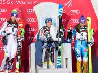 Historický moment pre Slovensko. Velez-Zuzulová vyhrala slalom v Záhrebe, Vlhová skončila druhá