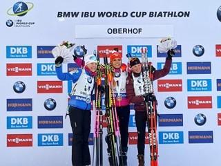 Koukalová vyhrala šprint v Oberhofe, Gereková skončila najlepšie v sezóne