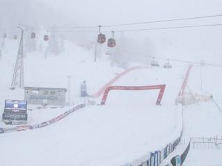 Zjazd žien sa pre husté sneženie a hmlu neuskutoční