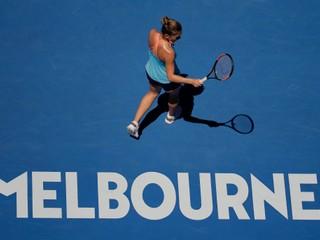 Halepová vypadla v prvom kole Australian open