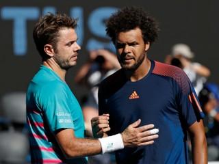 Wawrinka zdolal Tsongu a v súboji Švajčiarov vyzve v semifinále Federera