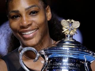 Od januára nehrá. Serena bude jednotkou minimálne do polovice mája