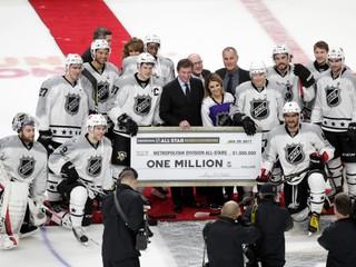 V Zápase hviezd padlo 36 gólov, dvoch Slovákov zaradili k legendám NHL