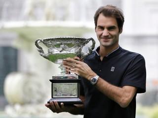 Federer ďakoval manželke: Podporovala ma už vtedy, keď som nemal žiadny titul