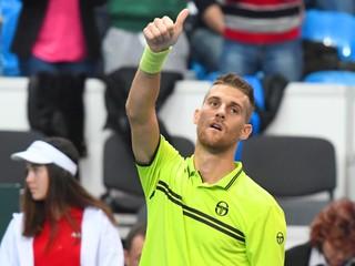 Kližan porazil Balázsa v štyroch setoch a získal prvý slovenský bod