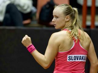 Šramková porazila Srbku Stojanovičovú a v Gstaade postúpila ďalej