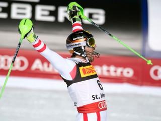 Hirscher získal druhé zlato, po obrovskom slalome vyhral aj slalom