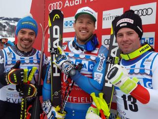 Jansrud triumfoval v zjazde na domácom snehu v Kvitfjelli