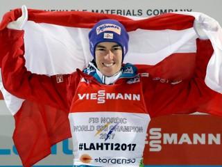 Skokanské zlato vybojoval Kraft, líder Svetového pohára zostal bez medaily