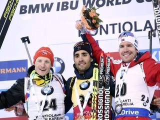 Fourcade prekonal Björndalenov rekord, Slovákom sa vôbec nedarilo