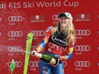 Slovenky nedokončili slalom v Squaw Valley, Shiffrinová získala svoj štvrtý malý glóbus