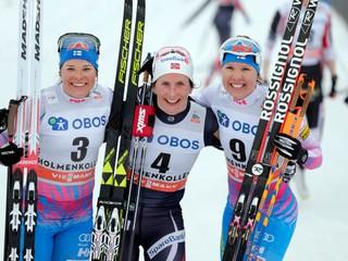 Björgenová zničila konkurenciu, súperky zaostali o vyše dve minúty