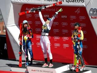 Vlhová vyhrala slalom v Aspene, Velez-Zuzulová skončila štvrtá a bude pokračovať v kariére