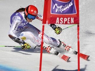 Vlhová dosiahla životný výsledok v obrovskom slalome, skončila siedma