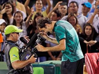 Federer potvrdil skvelú formu, o titul zabojuje aj v Miami