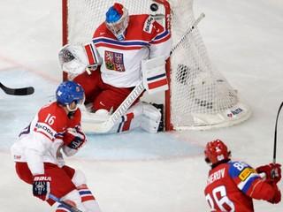 Česi končia vo štvrťfinále, Rusom nestrelili ani gól