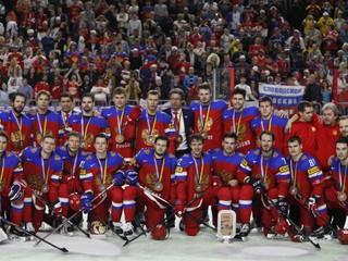 Rusi zdolali Fínov a získali medaily na štvrtom šampionáte za sebou