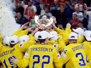 Švédi sú novými majstrami sveta, Kanadu zdolali po nájazdoch